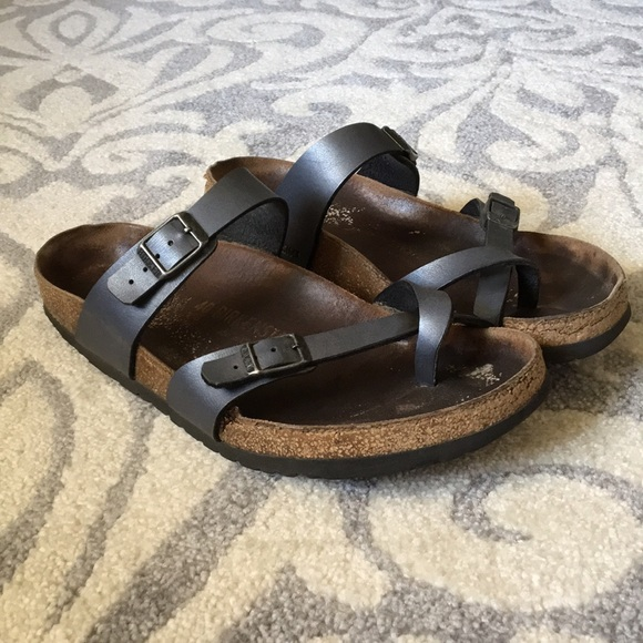 78cbaea25aa3 Birkenstock Shoes - Birkenstock Mayari size 40 narrow in titanium